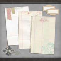 Parisian Notes by DaydreamersDesigns