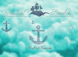 Nautical brushes Nia Kiut by Niakiut