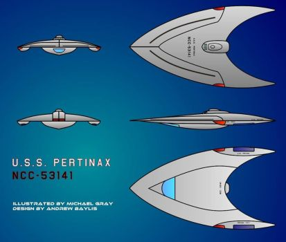 Finalised image of USS Pertinax by DMMACB