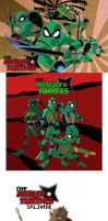 ninja turtles scroll by jamce