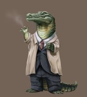 Mr. Alligator by Clareon