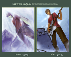 Draw This Again - Bassist by Cleife