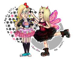 Hello Kitty + He wasnt Avril Lavigne by ViperViKo