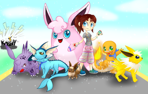 The Pokemon Go Squad by Ch4rm3d