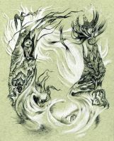 Severus' garden of deep within by john-n-mary