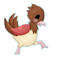 Spearow - 021 by Kiytt