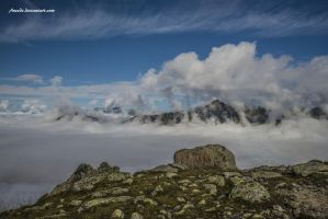 Sea Of Clouds by Aneede