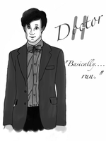 The Eleventh Doctor by Mr-Saxon