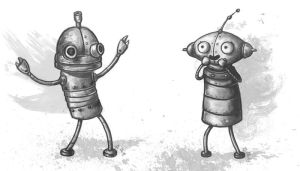 Machinarium fanart by Nyrn-Aeh