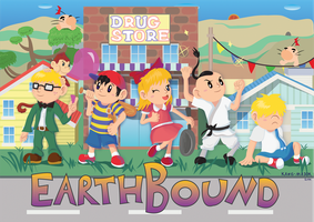 EarthBound 20th by Kanis-Major