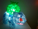 :Bulbasaur Lamp 2: by wistfulwings