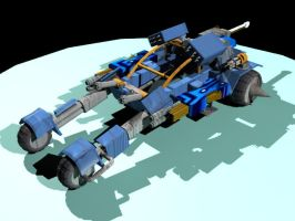 DuneBuggy - 3D Max by Guardianhunter