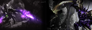 Kha'Zix, The Void Reaver Dual Screen Wallpaper by TomThaiTom