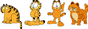 Garfield traces by Nutty-Nutzis