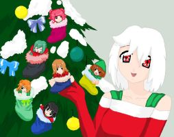 Base: Merry Precure-ish Christmas by V-P-aurore-star