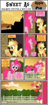 Sweet As Apple Pie - Idea: Me and Rated Ponystar by Gutovi-kun