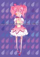 being madoka is suffering by handsomerogue