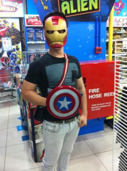 myself.. iron capt? lol by Zamberz