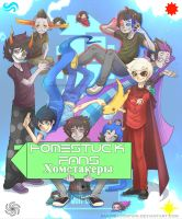Homestuck. avatar for the group by SasoriScorpion