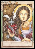 Saint Maria Goretti by natamon