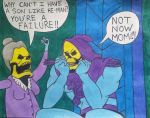 Not now Mom (He-man tribute) by Dee-Morgan999