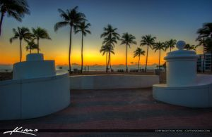 Fort-Lauderdale-Beach-Park-Coconut-Tree-Before-Sun by CaptainKimo