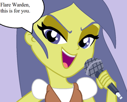 Starlight Twinkle Sings Cooties To Flare Warden by T-mack56