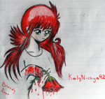 Bloody rose by KalyNichya92