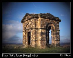 Black Dick's Tower (Holga) rld 01 dasm by richardldixon
