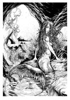 Print 3 Mermaid by andrewlawart