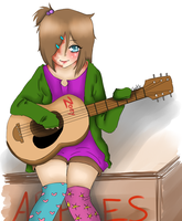 Guitars Are The Most Hardest Thing To Draw omg by I-Stole-Duh-Cookies