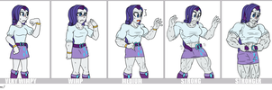 Ripped Rarity by DepravedDefense