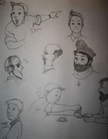 More Tintin sketches by zalazny