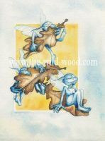Oak Sylphs by WildWoodArtsCo