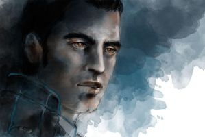 Mass Effect: Kaidan by olivegbg