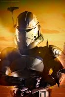 Sideshow - Commander Wolffe by andrewhitc