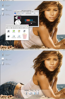 Desktop: Jessica Biel by Dane103
