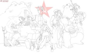 The Red Republic. by Circle-A
