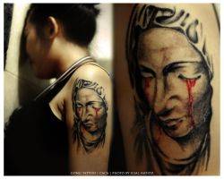 Gong Tattoo - Caca 02 by nouthin