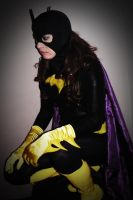 Batgirl Cosplay Back in Black - Perched by ozbattlechick