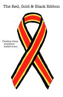 The Red, Gold And Black Ribbon by ryu-ren