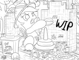 First Adventures_WIP by Tsitra360