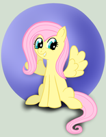 Fluttershy by wolfishmeow