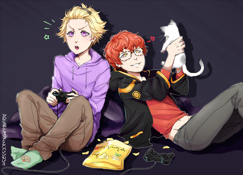 MM: Game night ! by wwhitewwand