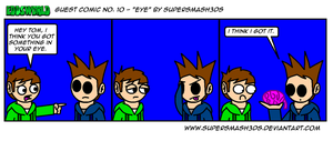 EWGUESTCOMIC No. 10 - Eye by SuperSmash3DS