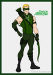 Justice League - Green Arrow Redesign by Femmes-Fatales
