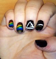 Dark Side of the Moon [Nails] by xTanuki