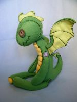 green dragon I by StitchedUpRabbit