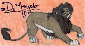 De Angelo for Stephy by Chouca-of-the-sands
