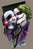 Joker by coloring